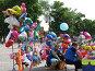 Продавцы надувных шариков, фото № 327762, снято 9 июня 2008 г. (c) Юлия Селезнева / Фотобанк Лори