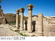 Купить «Храм Дендера около Люксора. Египет.», фото № 328218, снято 2 июня 2008 г. (c) Павел Коновалов / Фотобанк Лори