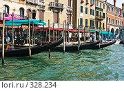 Купить «Главный канал Венеции», фото № 328234, снято 29 июня 2007 г. (c) Павел Коновалов / Фотобанк Лори