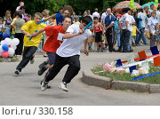 Купить «Эстафета», фото № 330158, снято 25 мая 2008 г. (c) Андреев Виктор / Фотобанк Лори