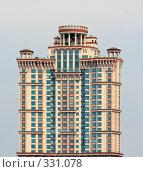 "Верхушка корпуса номер 4 жилого комплекса ""Алые паруса"", Москва, фото № 331078, снято 12 июня 2008 г. (c) Fro / Фотобанк Лори"