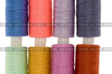 Купить «Швейные нитки», фото № 331090, снято 21 июня 2008 г. (c) Угоренков Александр / Фотобанк Лори