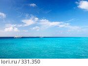 Купить «Морской пейзаж», фото № 331350, снято 22 февраля 2019 г. (c) М / Фотобанк Лори