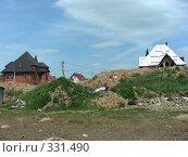 Купить «Квартал Абрамцево, Балашиха, Московская область», эксклюзивное фото № 331490, снято 9 июня 2008 г. (c) lana1501 / Фотобанк Лори
