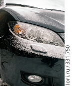 Купить «Заснеженный автомобиль», фото № 331750, снято 14 ноября 2007 г. (c) Анатолий Заводсков / Фотобанк Лори