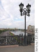 Купить «Москва, Патриарший мост», фото № 331946, снято 11 июня 2008 г. (c) Катыкин Сергей / Фотобанк Лори