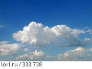 Купить «Облака», фото № 333738, снято 19 июня 2008 г. (c) Виктор Филиппович Погонцев / Фотобанк Лори