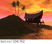 Купить «Закат на море», иллюстрация № 334762 (c) sav / Фотобанк Лори