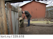 Купить «За работой», фото № 339618, снято 19 апреля 2008 г. (c) Анастасия Gorkaia / Фотобанк Лори