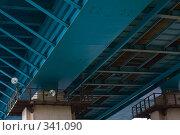 Купить «Под мостом», фото № 341090, снято 20 ноября 2018 г. (c) Алексей Волков / Фотобанк Лори