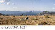Купить «Высокогорное плато», фото № 341162, снято 13 июня 2008 г. (c) Михаил Валеев / Фотобанк Лори