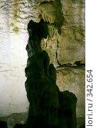 Купить «В Мраморных пещерах (Крым, Чатырдаг)», фото № 342654, снято 23 мая 2008 г. (c) Олег Титов / Фотобанк Лори