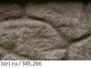 Купить «Рельефная бетонная стена», фото № 345266, снято 3 июля 2008 г. (c) Werin / Фотобанк Лори