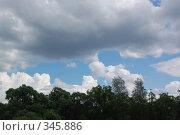 Купить «Небо», фото № 345886, снято 29 июня 2008 г. (c) Алексей Желтов / Фотобанк Лори