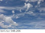 Купить «Небесные пейзажи», фото № 348206, снято 3 июля 2008 г. (c) Владимир Тимошенко / Фотобанк Лори