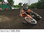 Купить «Мотокросс», фото № 348906, снято 5 июля 2008 г. (c) Талдыкин Юрий / Фотобанк Лори