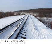 Купить «Зимний день», фото № 349654, снято 4 февраля 2007 г. (c) Александр Мещеряков / Фотобанк Лори