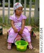 Купить «На пеньке», фото № 351634, снято 4 июля 2008 г. (c) Мукашева Асель / Фотобанк Лори