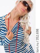 Купить «Морячка», фото № 352698, снято 4 июля 2008 г. (c) Михаил Мандрыгин / Фотобанк Лори