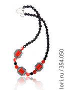 Купить «Красивое ожерелье», фото № 354050, снято 4 января 2008 г. (c) Андрей Армягов / Фотобанк Лори