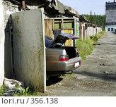 Купить «В гараже», фото № 356138, снято 11 июля 2008 г. (c) Дмитрий Лемешко / Фотобанк Лори
