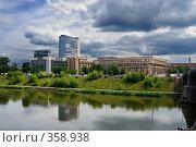 Городской пейзаж. Вильнюс. (2008 год). Стоковое фото, фотограф Aneta Vaitkiene / Фотобанк Лори