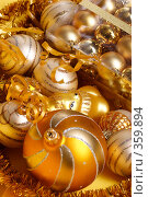 Купить «Новогодние игрушки», фото № 359894, снято 15 ноября 2004 г. (c) Кравецкий Геннадий / Фотобанк Лори