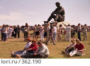 Купить «У памятника Василию Макаровичу Шукшину, гора Пикет», эксклюзивное фото № 362190, снято 19 июня 2019 г. (c) Free Wind / Фотобанк Лори