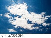 Купить «Небо», фото № 365394, снято 30 мая 2008 г. (c) Сергей Сухоруков / Фотобанк Лори