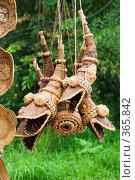Купить «Рога из бересты», эксклюзивное фото № 365842, снято 19 июля 2008 г. (c) Александр Щепин / Фотобанк Лори