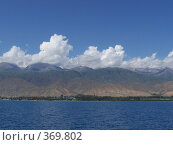 Купить «Северный берег озера Иссык-Куль, Киргизия», фото № 369802, снято 5 июня 2008 г. (c) Марина Стукалова / Фотобанк Лори