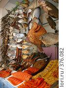 Купить «Рыбный прилавок», фото № 376082, снято 2 июля 2007 г. (c) Юлия Паршина / Фотобанк Лори