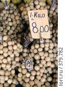 Купить «Лонган на рынке», фото № 379782, снято 5 июня 2008 г. (c) Валерий Шанин / Фотобанк Лори