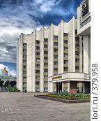 Купить «Главный дом в республике Мордовия», фото № 379958, снято 26 июня 2008 г. (c) Parmenov Pavel / Фотобанк Лори