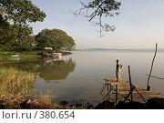 Купить «Утро на озере Тана, Эфиопия», фото № 380654, снято 10 мая 2008 г. (c) Александр Волков / Фотобанк Лори