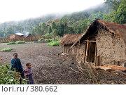 Сельская жизнь в горах Бали, Эфиопия (2008 год). Редакционное фото, фотограф Александр Волков / Фотобанк Лори