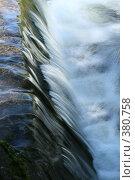 Купить «Поток воды», фото № 380758, снято 26 июля 2008 г. (c) Татьяна Заварина / Фотобанк Лори
