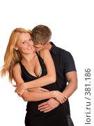 Купить «Влюбленная пара», фото № 381186, снято 29 мая 2008 г. (c) Ольга Сапегина / Фотобанк Лори