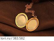 Старинный кулон с секретом (с местом для фотографии) Стоковое фото, фотограф Светлана Симонова / Фотобанк Лори