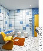 Купить «Интерьер ванной комнаты», иллюстрация № 386450 (c) Дмитрий Кутлаев / Фотобанк Лори