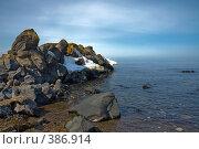 Купить «Берег моря», фото № 386914, снято 23 марта 2008 г. (c) Андрей Винокуров / Фотобанк Лори
