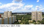 Купить «Панорама Тольятти с высоты птичьего полета», фото № 387730, снято 30 июля 2008 г. (c) Лукиянова Наталья / Фотобанк Лори