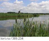 Купить «Голландский пейзаж», фото № 389234, снято 2 августа 2005 г. (c) Вячеслав Смоленский / Фотобанк Лори