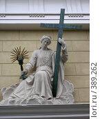 Купить «Из жизни скульптур», фото № 389262, снято 8 августа 2005 г. (c) Вячеслав Смоленский / Фотобанк Лори