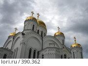 Купить «Купола Свято-Троицкого Собора», фото № 390362, снято 26 июля 2008 г. (c) Дмитрий Лагно / Фотобанк Лори