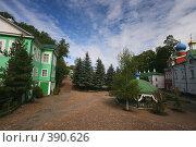 Купить «Псково-Печерский монастырь», фото № 390626, снято 11 марта 2006 г. (c) Андрей Шахов / Фотобанк Лори