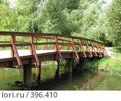 Купить «Москва. Мост через Яузу.», фото № 396410, снято 9 августа 2008 г. (c) Хименков Николай / Фотобанк Лори