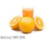Купить «Апельсиновый сок», фото № 397374, снято 18 июня 2008 г. (c) Валерия Потапова / Фотобанк Лори