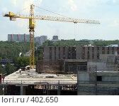 Купить «Стройка», фото № 402650, снято 7 августа 2008 г. (c) Игорь Муртазин / Фотобанк Лори
