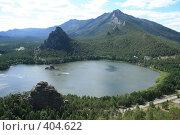 Купить «Озеро в горах (Боровое)», фото № 404622, снято 22 июля 2008 г. (c) Никончук Алексей / Фотобанк Лори